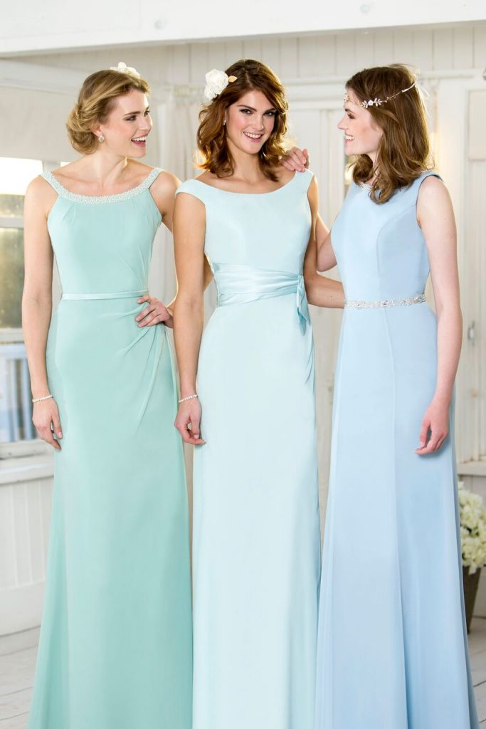 Bridesmaid Dresses In Pastel Colours Wedding Dresses Sussex