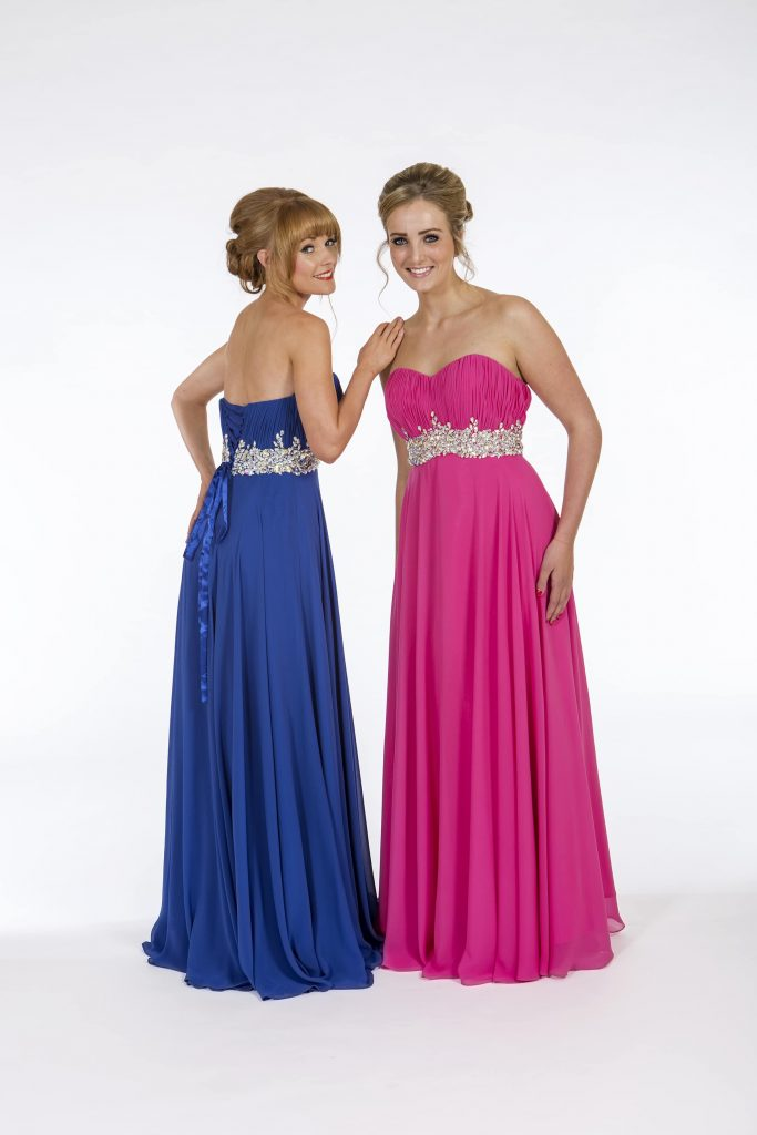 PF 9159 Hot Pink and Sapphire Blue 1 | Wedding Dresses Sussex ...