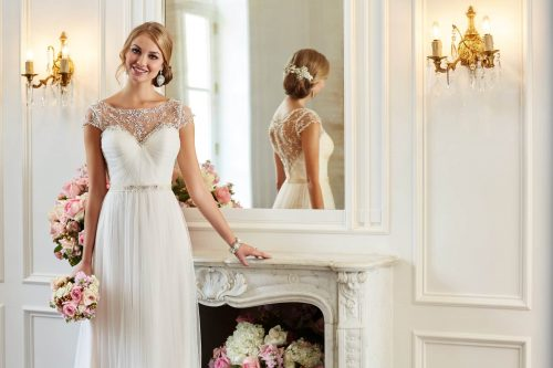 6263 STELLA YORK WEDDING DRESS